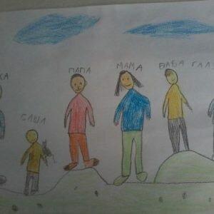 Расшифровка детского рисунка «Моя семья»