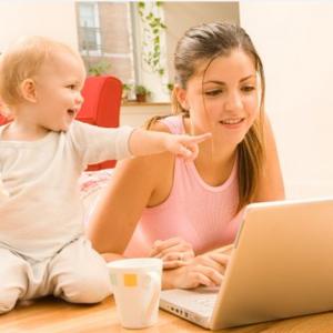 Как заработать сидя дома с ребёнком