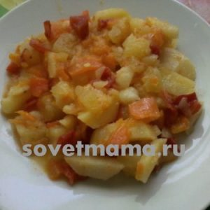 Рецепт приготовления овощного рагу