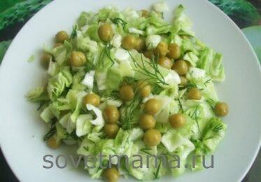 Салаты из свежей капусты. Рецепты простые и быстрые