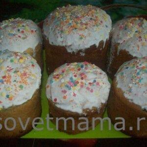 Кулич пасхальный рецепт с фото пошагово